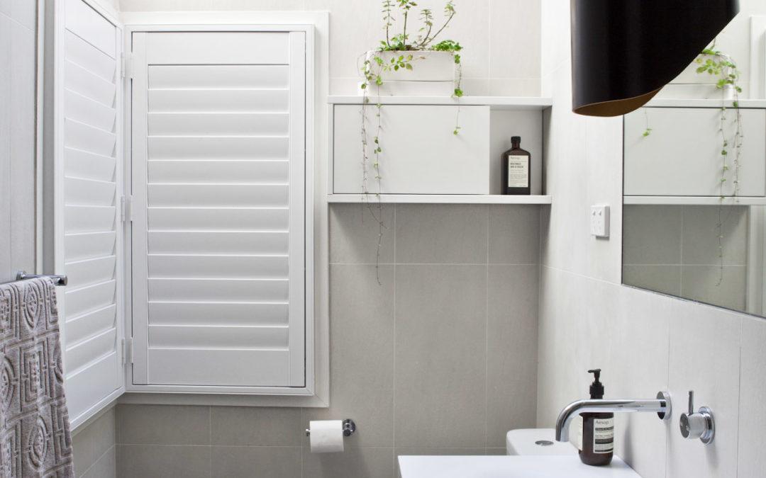 Designing a small bathroom or ensuite