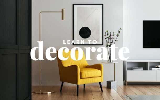 Learn to decorate short course. Interior Design short course by Trentini Design